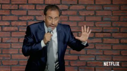 "Screenshot of ""Jerry Before Seinfeld,"" Netflix"